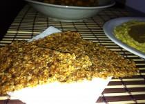 Крекери с камут и сушени домати
