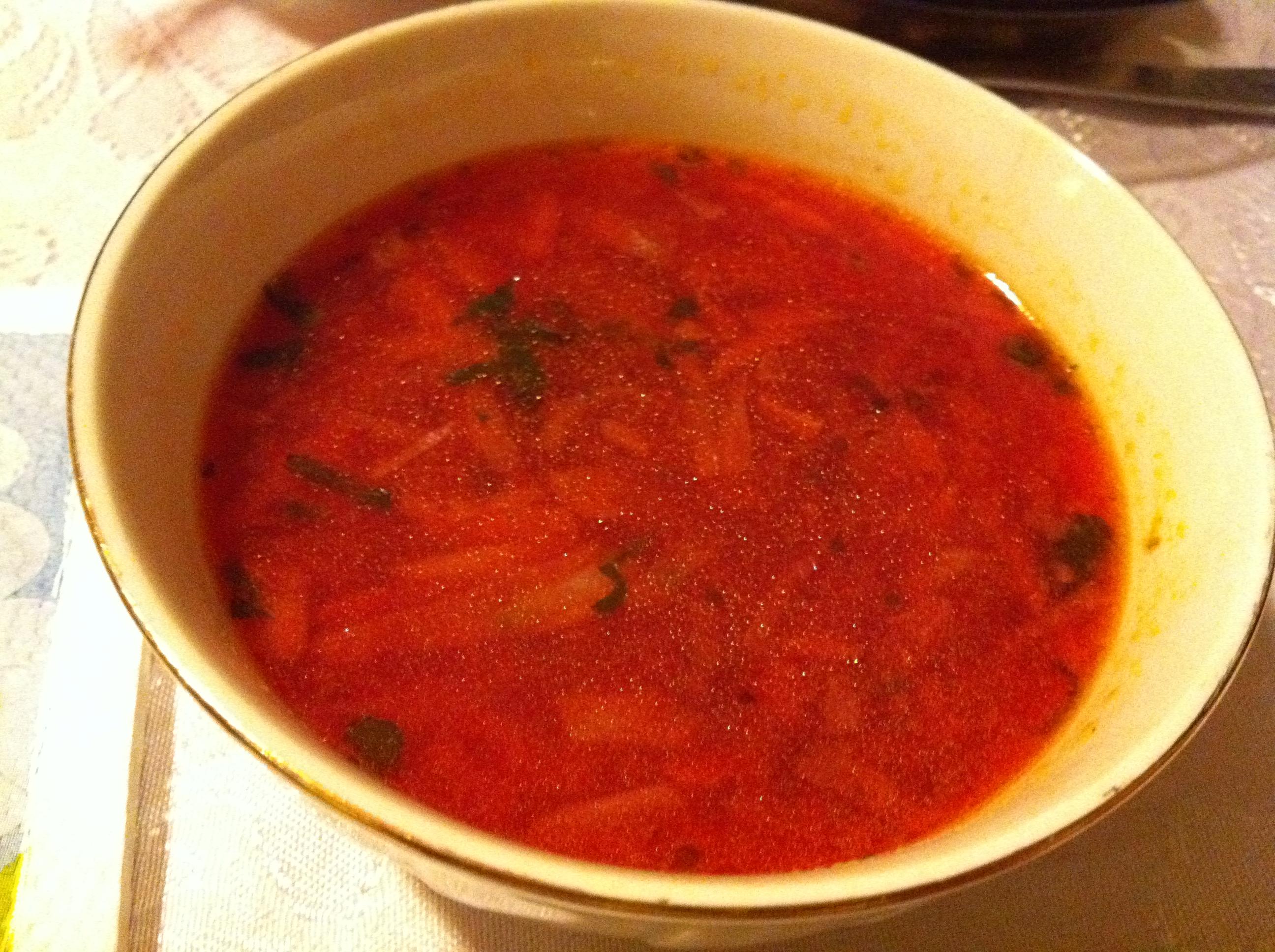 Супа борш